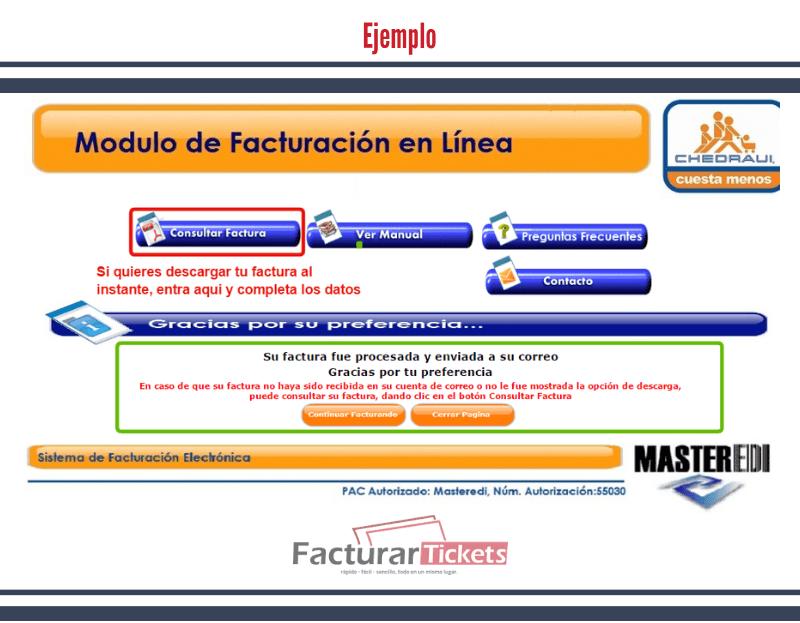 Descargar Factura.