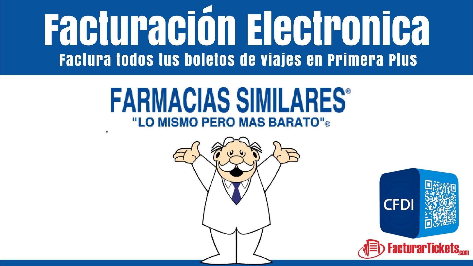 facturacion electronica Farmacias Similares del Dr Simi