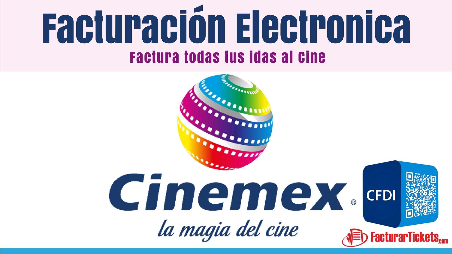 Cinemex Facturacion Electronica