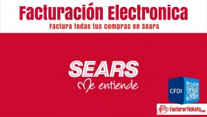 facturacion electronica sears