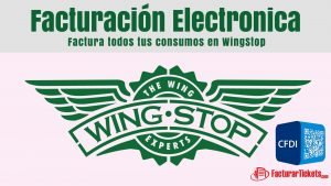 facturacion electronica wingstop