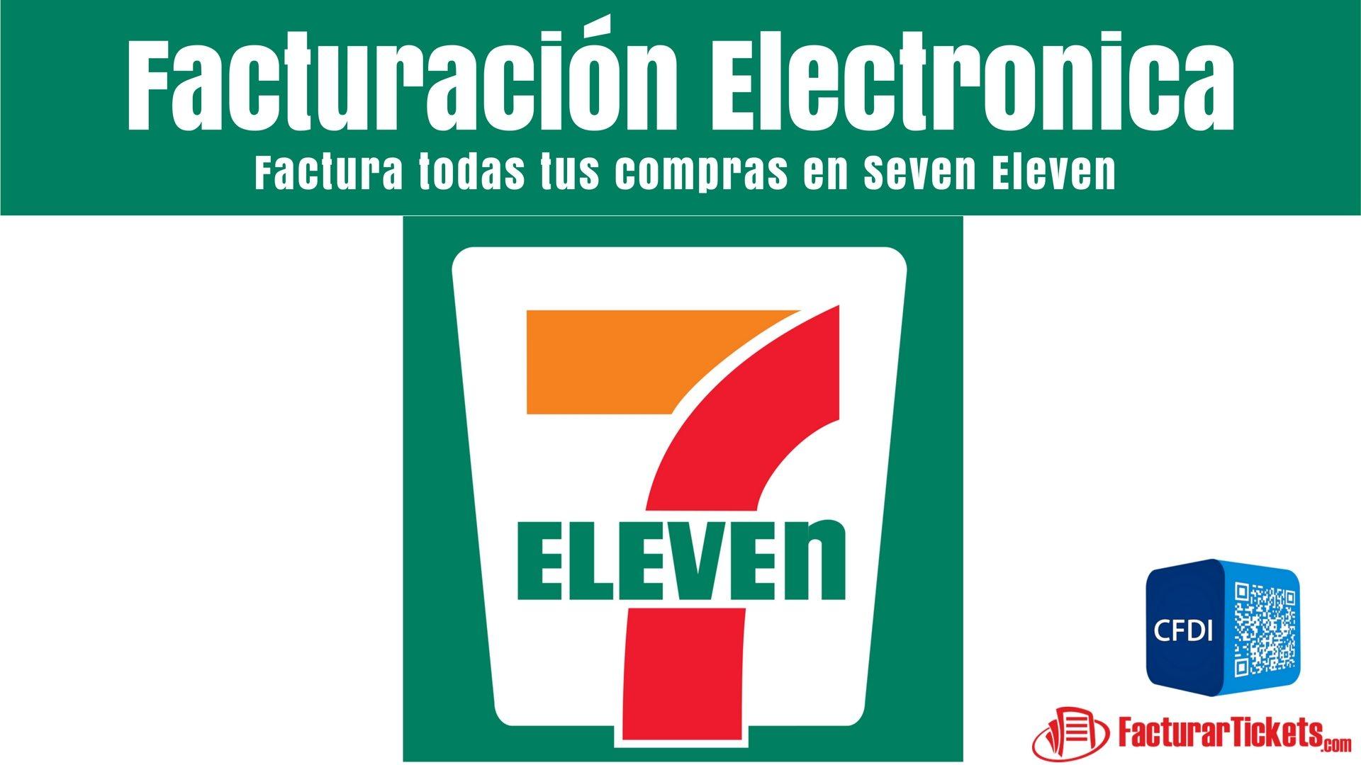 7 eleven facturacion electronica en linea