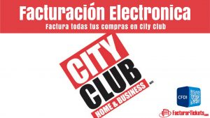 facturacion city club en linea