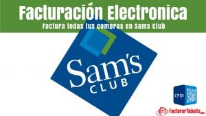 facturacion sams club en linea