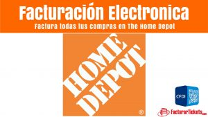 Home Depot Facturacion Electronica