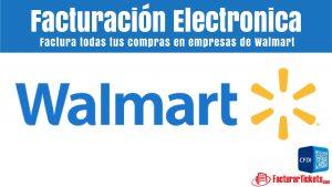 Facturacion Walmart en linea