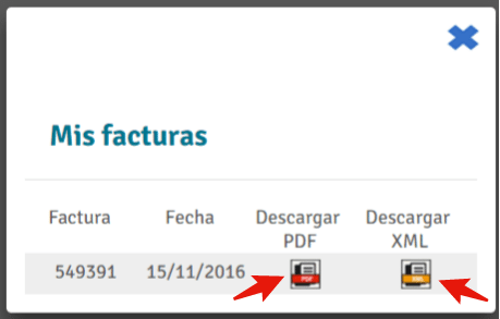 descargar factura CFDI de autovias de grupo herradura occidente