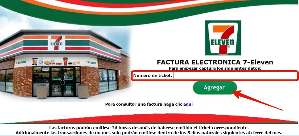 sistema de facturacio electronica 7 eleven