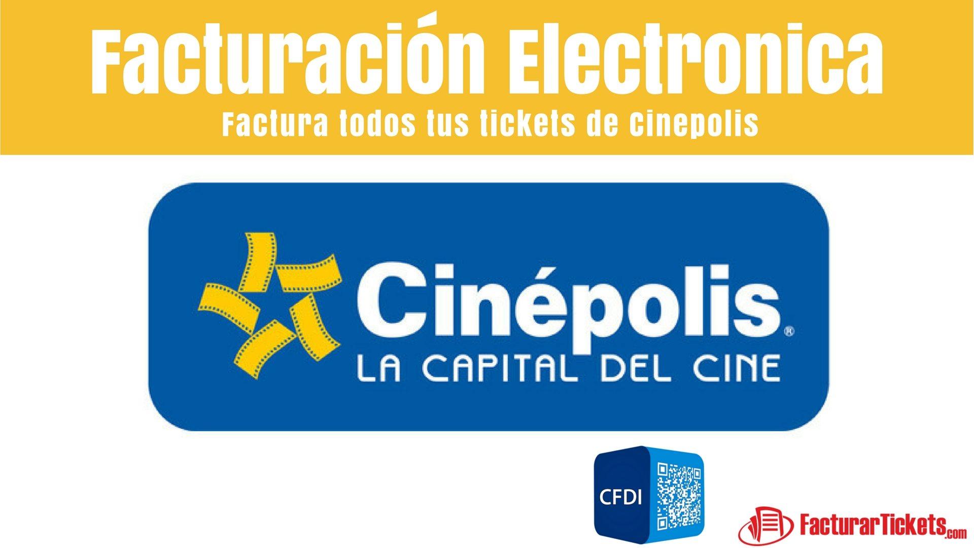 Cinepolis facturacion en linea