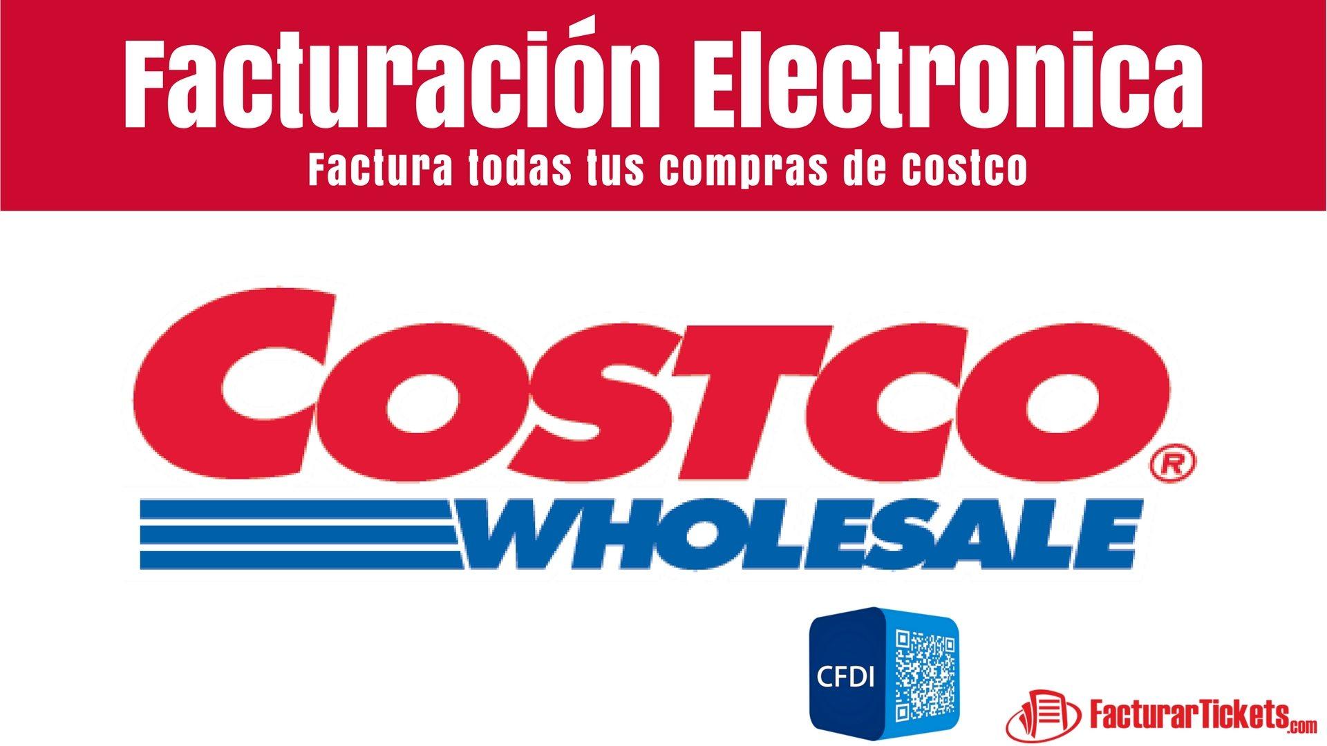 Facturacion Electrónica Costco por Internet