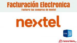 Facturacion Nextel en linea