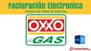 Facturacion OXXO Gas en linea