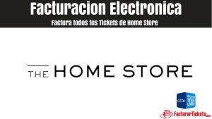 Facturacion Home Store en Linea