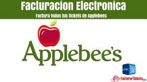 facturacion Facturacion Applebees en linea