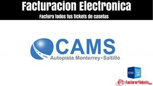 facturacion Cams Autopista Monterrey Saltillo