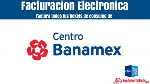 facturar centro banamex en linea