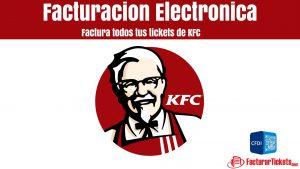 Facturar KFC en linea