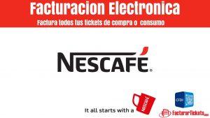 Facturar Nescafe Store en linea