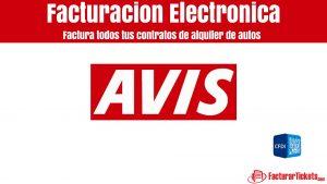 Facturación AVIS en linea