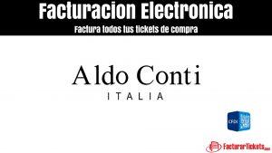 Facturación Aldo Conti en linea