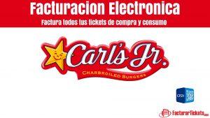 Facturación Carl's en linea