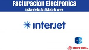 Facturacion Interjet en linea