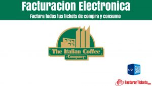 Facturacion Italian Coffee en linea
