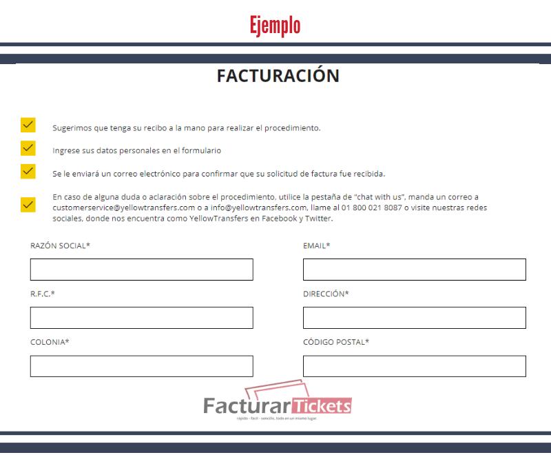Ingresar Información Fiscal.