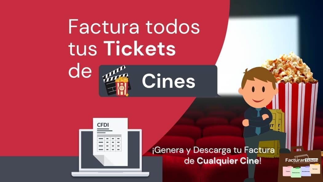 Facturar boletos de cine