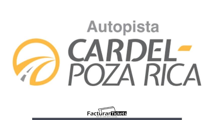 logo facturar Autopista Cardel - Poza Rica