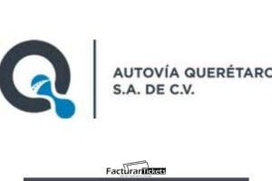 logo facturar Autovía Querétaro (AQSA)